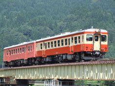 Kiha52×2 - 国鉄キハ20系気動車 大糸線