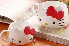 Inspired Hello Kitty Mug Coffee Mug / Mug / Coffee Cup (w015)