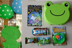 Frog Prince DIY Party Lootbag Favor