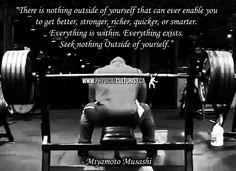 Seek Nothing Outside Of Yourself – Miyamoto Musashi | Physical Culturist