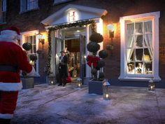 Hotel Hayfield Manor (Cork, Ireland)...at Christmas