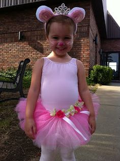 today at ballet the sweet little ballerinas got to wear their halloween costumes hallie was so excited of course she also changed her - Ballet Halloween Costume