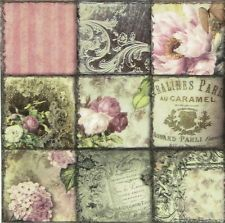 Decoupage Napkins Decor #221 25 cm 9,5 inches for Decoupage 2 Single  Paper Napkins Paper-Craft and Collage