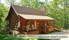 Clear Creek Ridge Cabins - Granny Ann's  http://www.supertransportablehomes.com.au/