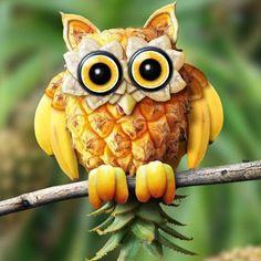Fruit owl; Esta debería ser la mascota de fruit loops
