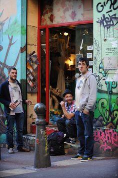 Cours Julienin graffitit. #marseille #värikäs #ranska
