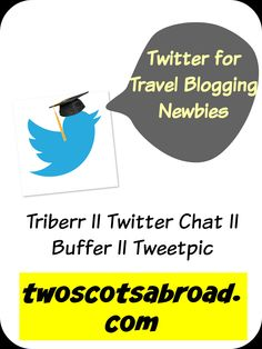 Increase your followers on Twitter with this step by step guide. Part two of 'Social Media for Travel Blogging Newbies'.