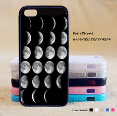 Moon phase phone case,iPhone 6 case,iPhone 6 Plus Case,iPhone 5/5S case,iPhone 5C Case,iPhone 4/4S case