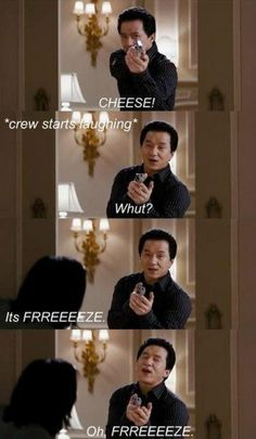 Jackie Chan being hilarious, as usual