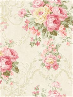 wallpaperstogo.com WTG-116448 Seabrook Designs Traditional Wallpaper