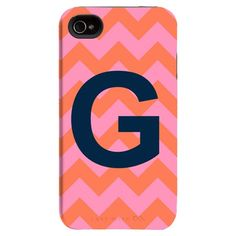 I pinned this Happy Habitat iPhone 4/4s Case in Coral Big Letter from the Bright & Bold Accessories event at Joss and Main!