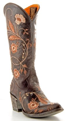 Womens Old Gringo Julie Boots Chocolate #L956-3