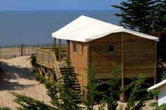 Robinson Crusoë-huisjes van sterrenniveau op Ile de Noirmoutier
