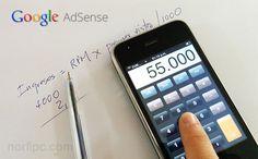 Calcular cuánto dinero puedo ganar con AdSense en un blog de internet