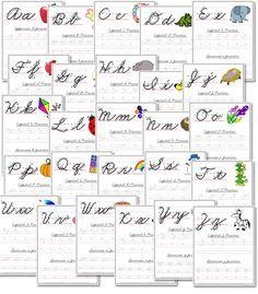 Free A-Z Cursive Handwriting Worksheets | Free Homeschool Deals ©