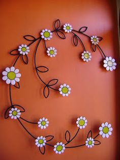 """See our website for more information on """"metal tree wall decor"""". It is an outstanding spot for more information. Wall Hanging Crafts, Diy Wall Art, Tree Wall Decor, Diy Wall Decor, Metal Tree Wall Art, Metal Art, Wire Crafts, Diy And Crafts, Aluminum Can Crafts"""