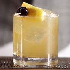 This cocktail's a tantalizing twist on the traditional Whiskey Sour.