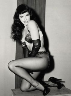 pin up betty white | Charlotte Olympia's favourite pin-up girls: Betty Page