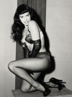 pin up betty white   Charlotte Olympia's favourite pin-up girls: Betty Page