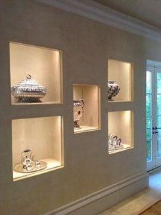 Bathroom Decorating – Home Decorating Ideas Kitchen and room Designs Niche Design, Wall Decor Design, Ceiling Design, Elegant Living Room, Elegant Home Decor, Cute Home Decor, Hallway Decorating, Interior Decorating, Niche Decor