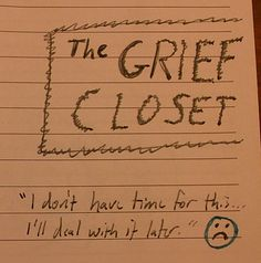Normal Bereavement Period | The Grief Closet (intro), (c) 2013