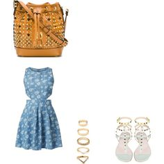 Untitled #861 by joleen2310 on Polyvore featuring polyvore moda style Madam Rage MCM Forever 21