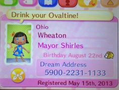 fake? RELEASE DATE WAS IN JUNE. FAKE. Animal Crossing New Leaf Dream Address.