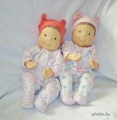 Dolls of Adria and Szofi. Baby doll - toys 48 cm tall