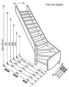 Sizes of the cottage millers stairs - Sizes of the cottage millers stairs - Loft Staircase, Attic Stairs, Basement Stairs, House Stairs, Staircase Design, Stair Plan, Building Stairs, Stair Storage, Stepping Stones