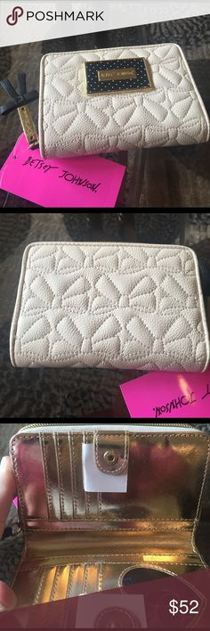 "NEW! BETSEY JOHNSON BIFOLD WALLET BRAND NEW! AUTHENTIC BETSEY JOHNSON BIFOLD WALLET-Approximate Measurements are 5 1/2"" X 4""-NEVER USED! EXCELLENT NEW CONDITION!! Betsey Johnson Bags Wallets"