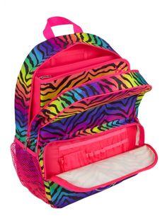 Gradient Zebra Backpack | Girls Backpacks & School Supplies Accessories…