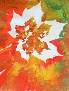 Znalezione obrazy dla zapytania autumn paint