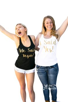 bachelorette party ideas - bachelorette party tanks