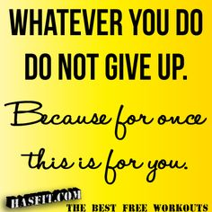 fitness inspirational quote gym