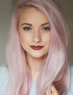 Cotton Candy pink hair