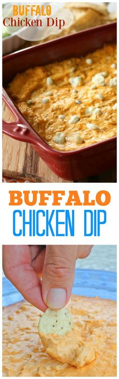 Buffalo Chicken Dip – The Girl Who Ate Everything Buffalo Chicken Dip – we eat this almost every Sunday! A tried and true favorite. the-girl-who-ate-… Fun Easy Recipes, Dip Recipes, Popular Recipes, Easy Meals, Cooking Recipes, Amazing Recipes, Delicious Recipes, Buffalo Chicken Dip Recipe, Gastronomia