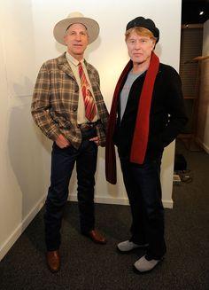 Robert Redford - Robert Redford and Kenneth Cole With Sundance - 2011 Sundance Film Festival Volunteers (Jan 22, 2011)