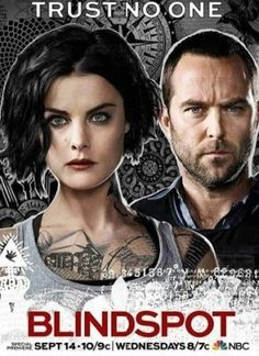 Created by Martin Gero. With Sullivan Stapleton, Jaimie Alexander, Audrey Esparza, Ashley Johnson. Jane Doe is found in Times Square with no memory and mysterious tattoos on her body. Sullivan Stapleton, Ashley Johnson, Jaimie Alexander, Blindspot Tv, Top Tv Shows, Watch Tv Shows, Movies And Tv Shows, Tv Series Online, Comic Con