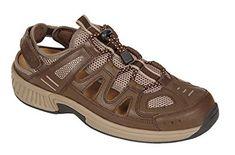 c76610ae3e8258 Orthofeet Alpine Comfort Diabetic Mens Orthopedic Sandals Fisherman Review