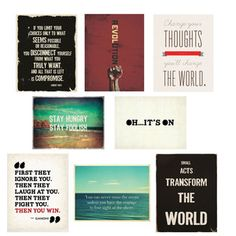Empower Wall Cards 5x7 now featured on Fab.