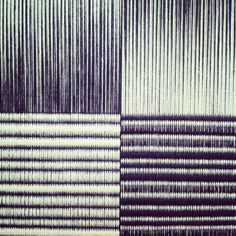 Weaving based on the work of Ryoji Ikeda | ilse acke <-- lovely colours/gradients