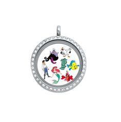 Origami Owl & Misc Brand Disney Little Mermaid by CharmingAndCute, $4.00
