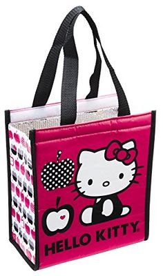 85ee89eae Travel Lunches, Hello Kitty Kitchen, Lunch Tote, Shopper Tote, Go Shopping,  Insulation, Diaper Bag, Recycled Materials, Contents