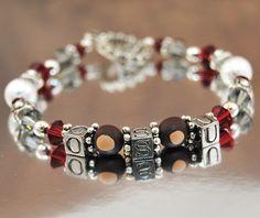 game day bracelet..Go Bucks!