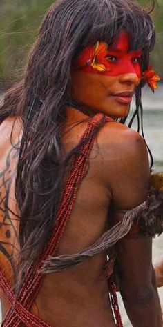 Beautiful woman form Amazonia, Brasil