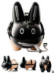 "Obey your master with... Kozik's ""Bondage"" 10-inch Smorkin' Labbit"