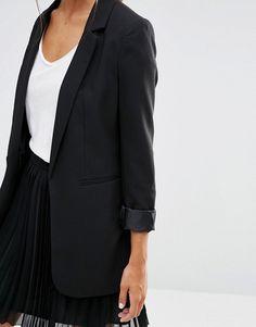 New Look Longline Jacket $46
