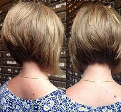 Popular Stacked Bob Haircut Pictures | http://www.short-haircut.com/popular-stacked-bob-haircut-pictures.html