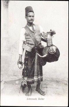 1899 Egypt Lemonade Seller