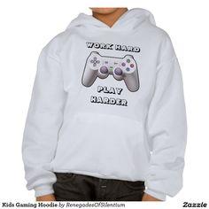 Kids Gaming Hoodie